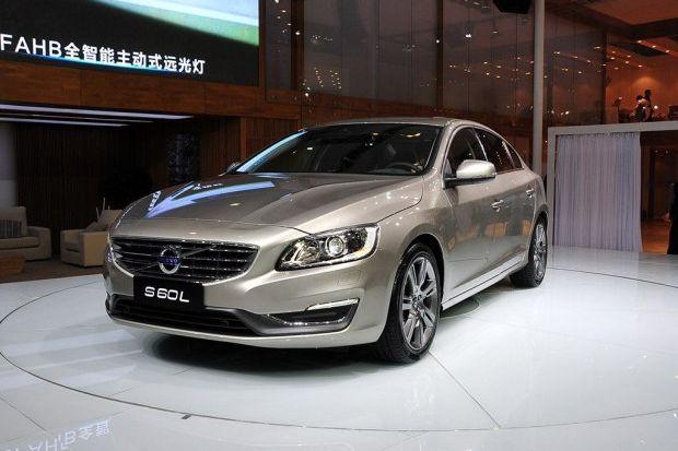 13广州车展 国产沃尔沃S60L正式亮相高清图片