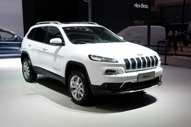 产jeep两款车 广汽菲亚特广州工厂奠基 高清图片