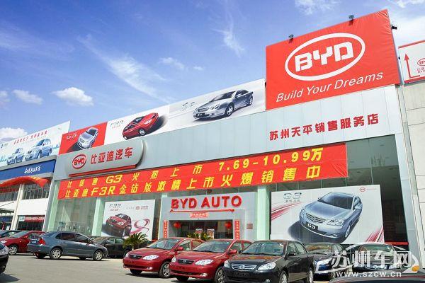 汽车销售服务有限公司   位于苏州市高新国际汽车城内御风高清图片