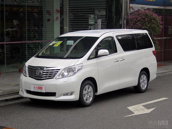 丰田埃尔法 2010款2.4AT豪华型-埃尔法惨遭山寨 曝九龙新商务车专利图高清图片