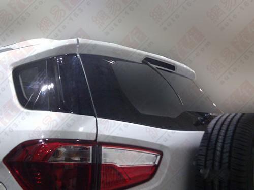 国产小型SUV 长安福特EcoSport谍照曝光高清图片