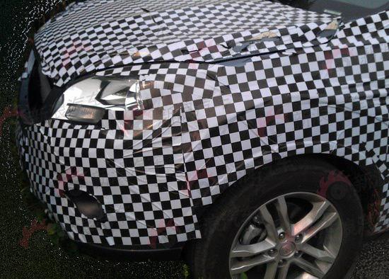 長安首款SUV車型詳拍曝光 首推1.6L動力高清圖片
