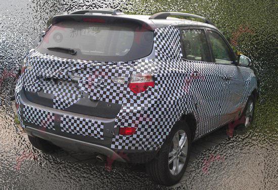 长安首款SUV车型详拍曝光 首推1.6L动力高清图片